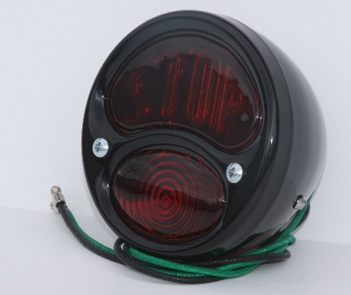 1928 Black Duo Stop Tail Light2010-0896
