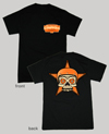 NYC Choppers Sugar Skull Short Sleeve T-Shirt